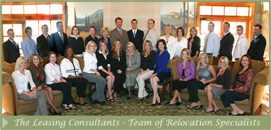 Team of Relocation Specialists
